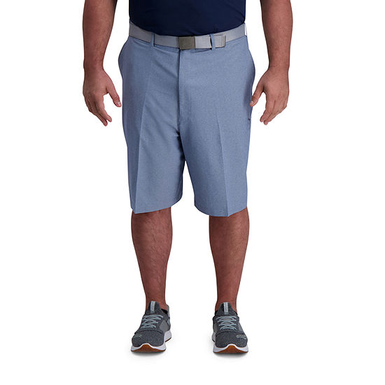 Haggar Active Series Mens Stretch Moisture Wicking Chino Short-Big and Tall