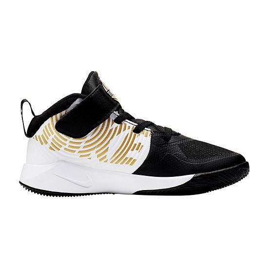 Nike Hustle D9 Little Kids Boys Sneakers