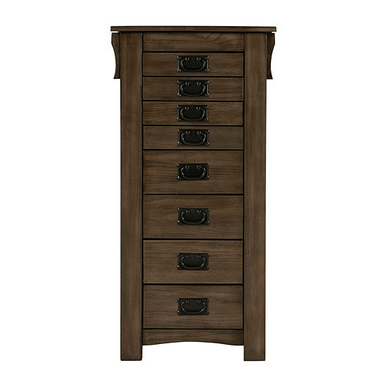 Powell Company Painted Jewelry Armoire
