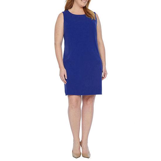 Alyx-Plus Sleeveless Sheath Dress