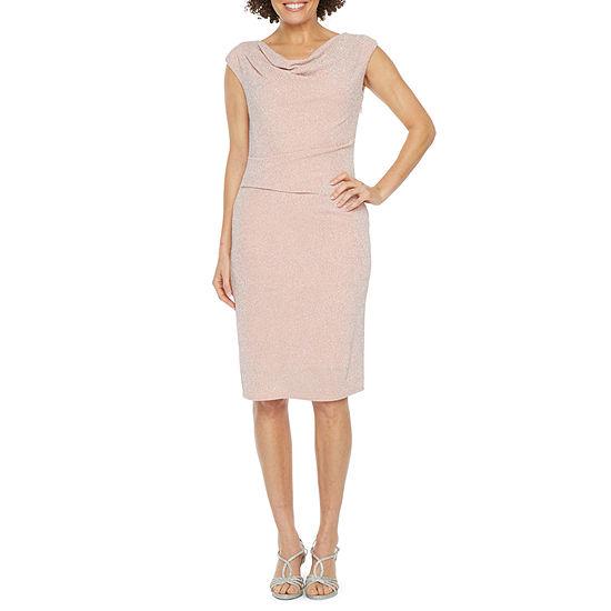 Jessica Howard Cap Sleeve Sheath Dress