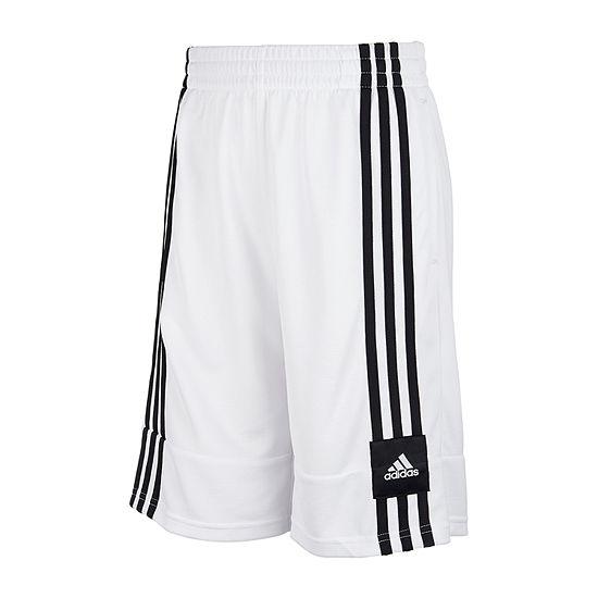adidas Big Boys Mid Rise Basketball Short