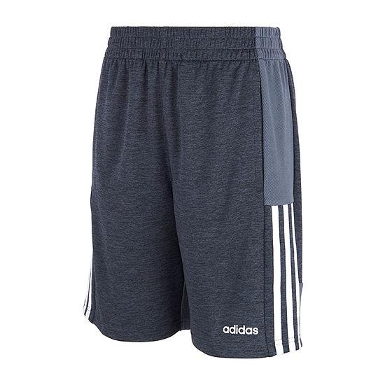 adidas Boys Mid Rise Basketball Short - Big Kid