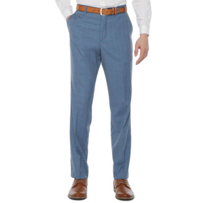 JF J.Ferrar Ultra Comfort Plaid Stretch Suit Pants