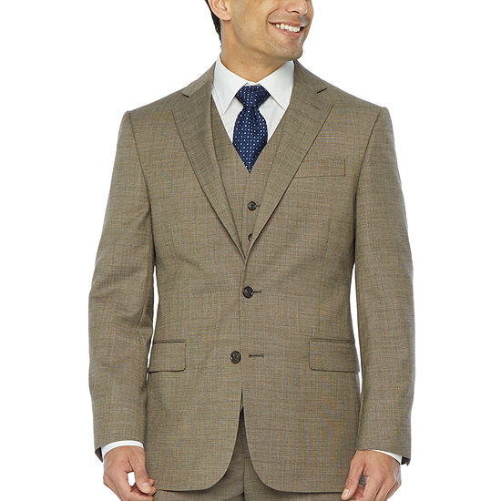 Stafford Super Suit Mens Stretch Classic Fit Suit Jacket