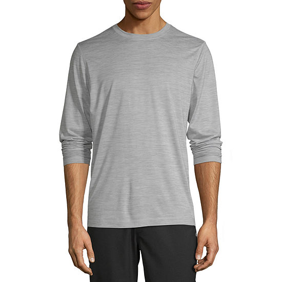 Xersion Performance Mens Crew Neck Long Sleeve T-Shirt