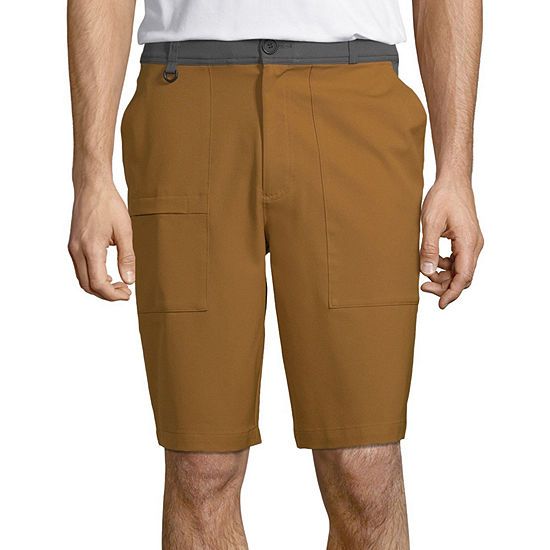 Xersion Mens Outdoor Mid Rise Stretch Workout Shorts