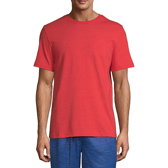 Xersion Cotton Mens Crew Neck Short Sleeve T-Shirt