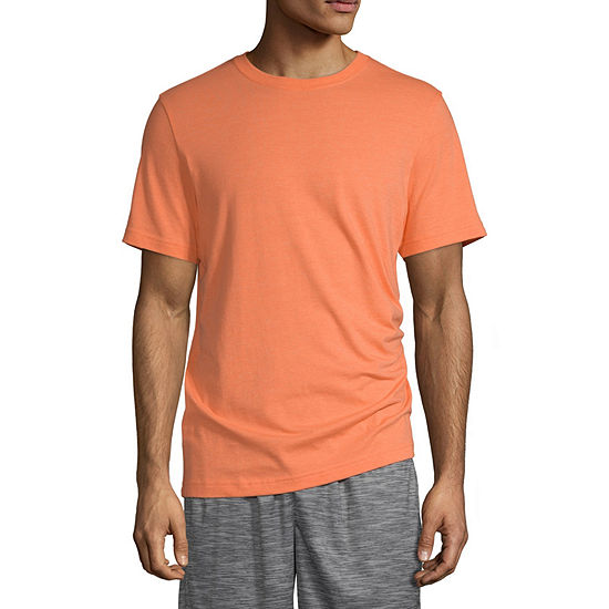 Xersion Cotton Mens Crew Neck Short Sleeve T-Shirt