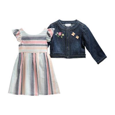 Youngland Baby Girls 2-pc. Jacket Dress