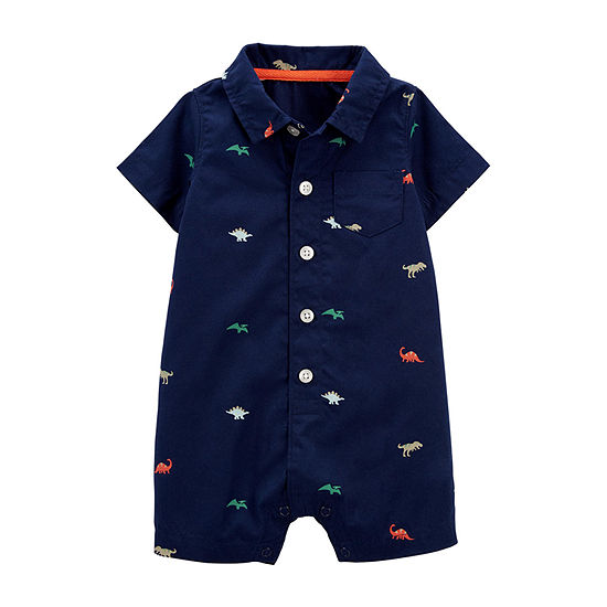 Carter's Baby Boys Short Sleeve Romper