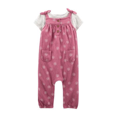 Carter's Baby Girls 2-pc. Overall Set