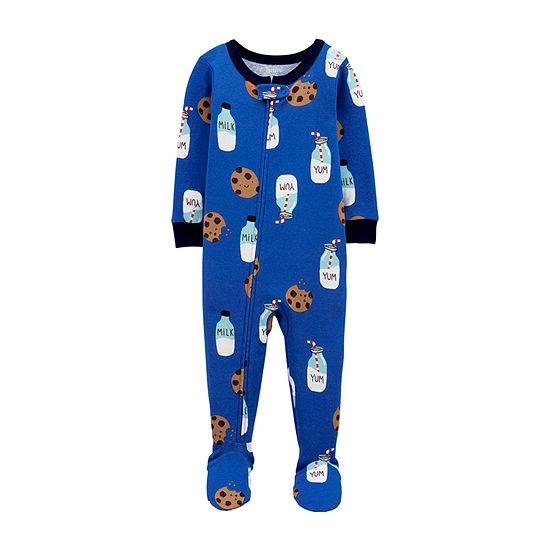 Carter's Baby Boys Long Sleeve One Piece Pajama