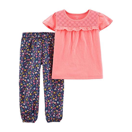 Carter's Baby Girls 2-pc. Pant Set