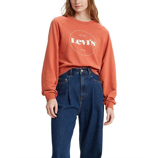 Levi's Vintage Womens Crew Neck Long Sleeve Sweatshirt