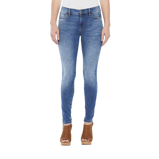 a.n.a Womens High Rise Skinny Stretch Jeggings - Petite
