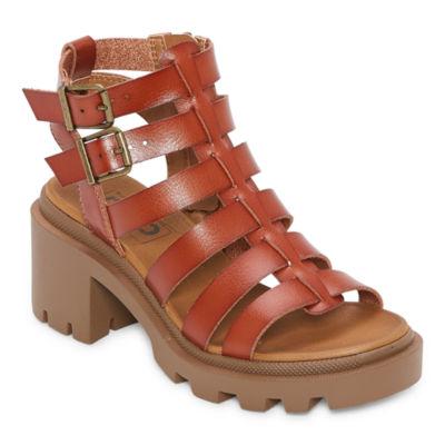 Pop Womens Sundress Heeled Sandals