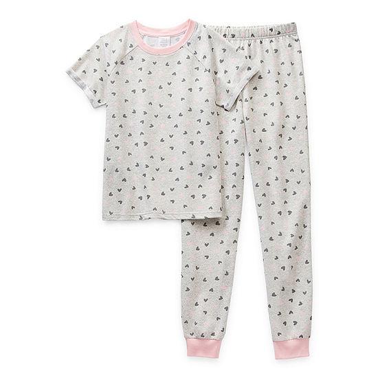 Peace Love And Dreams Little & Big Girls 2-pc. Pant Pajama Set