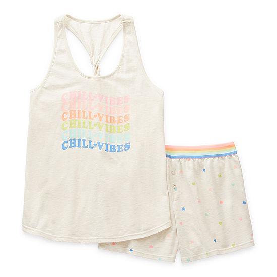 Sleep Chic Mommy & Me Womens 2-pc. Shorts Pajama Set
