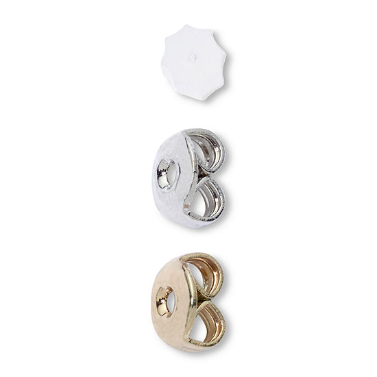 Mixit Gold Silver Tone Replacement Earring Backs