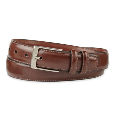 Stafford® Double Leather Keeper Belt