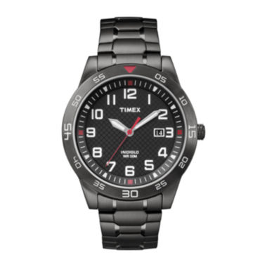Timex Mens Black Expansion Watch-Tw2p616009j