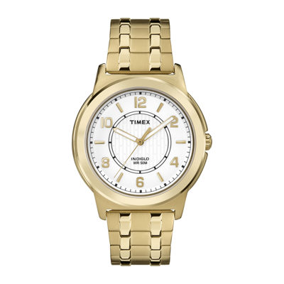 Timex Mens Gold Tone Expansion Watch-Tw2p620009j
