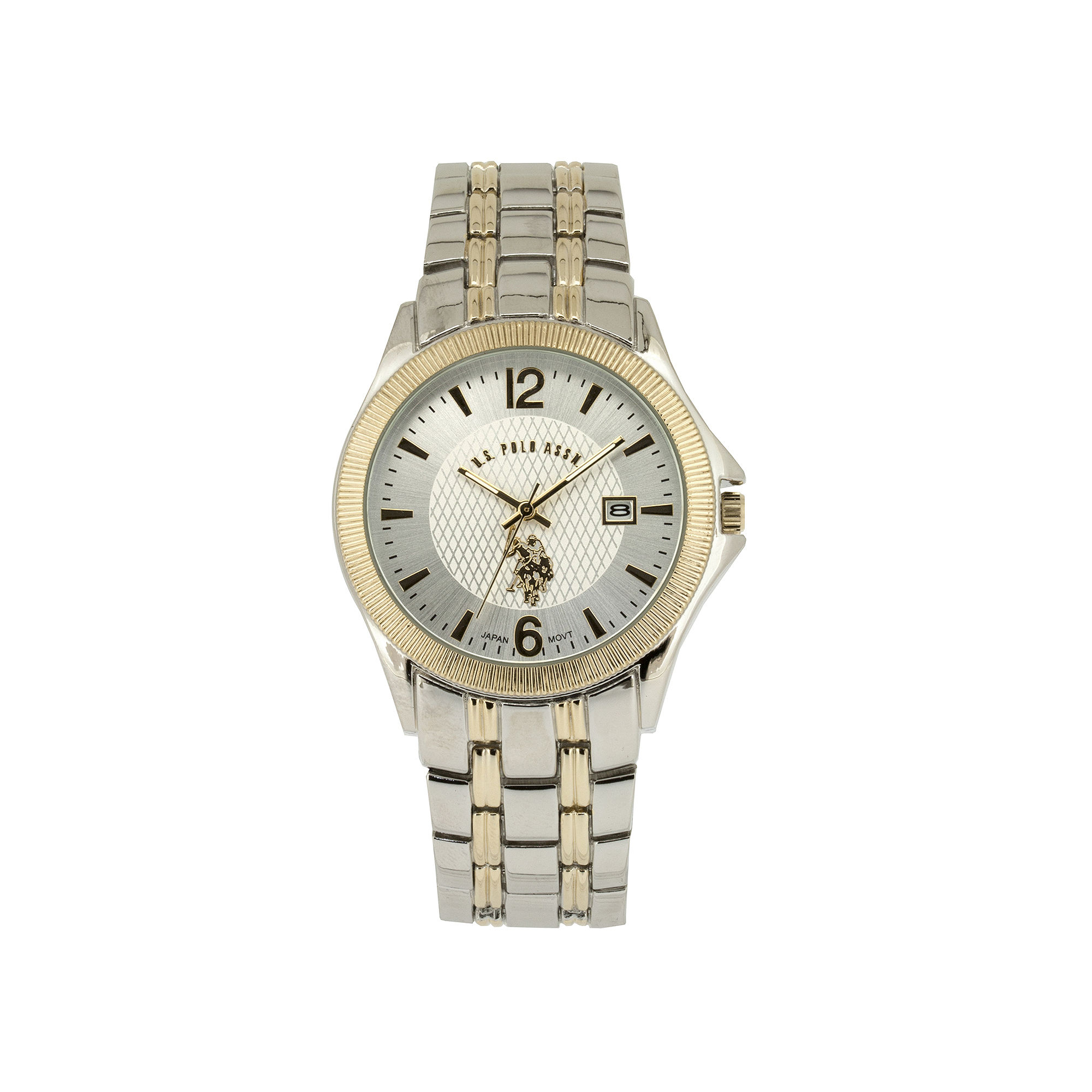 Men 39 S Watches U S Polo Assn Mens Two Tone Stainless
