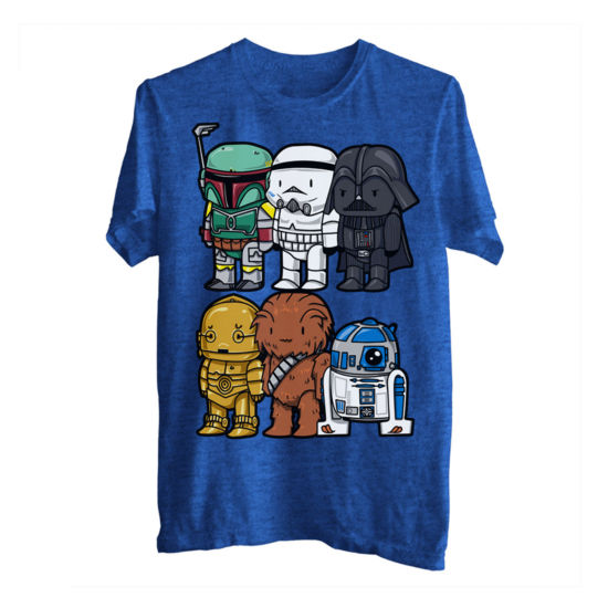 Star Wars Cute Wars Graphic Tee