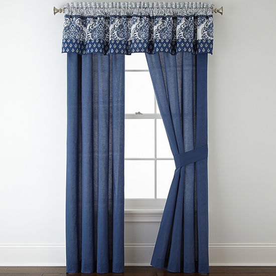Rod-Pocket Set of 2 Curtain Panel