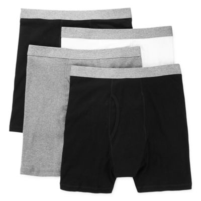 Stafford® 4-pk. Boxer Briefs
