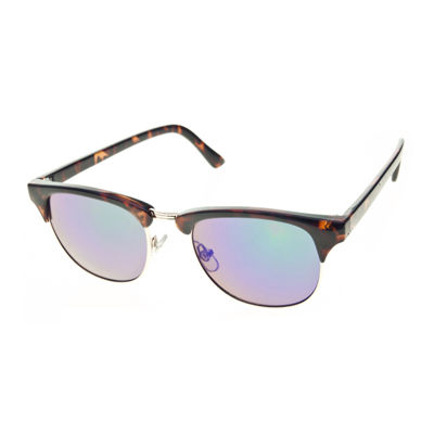 Arizona® Tortoise Mirror Retro Sunglasses