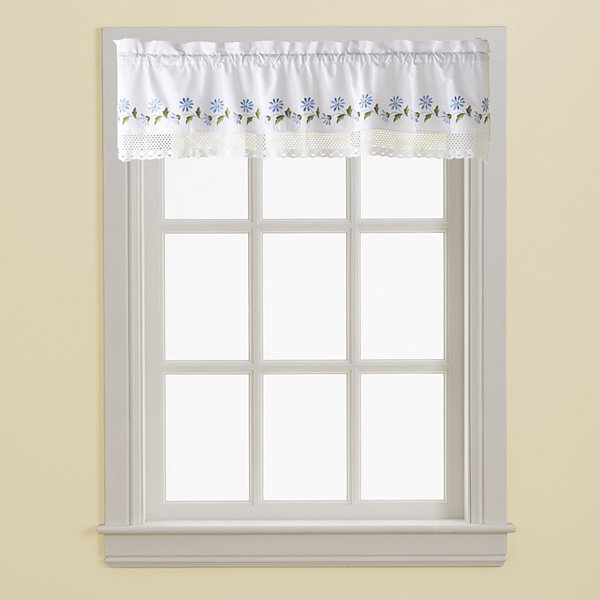 Leighton Rod-Pocket Tailored Valance