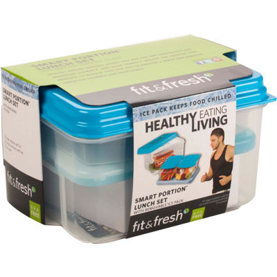 Fit & Fresh® Healthy Living 4-pc. Lunch On-the-Go Set