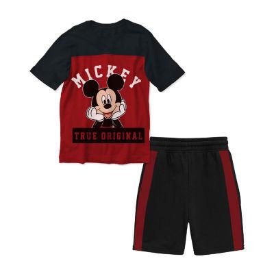 Disney 2-pc. Mickey Mouse Short Set Toddler Boys