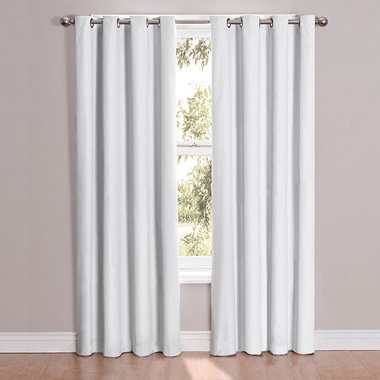 Eclipse Cassidy Blackout Grommet-Top Curtain Panel