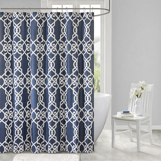 510 Design Neville Printed Shower Curtain