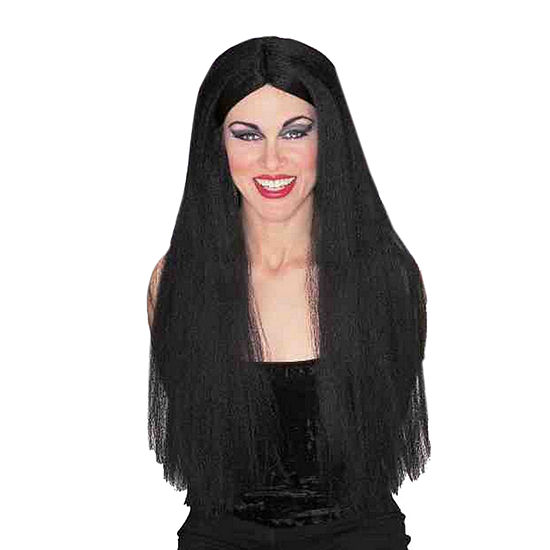 Adult Black Wig Dress Up Accessory
