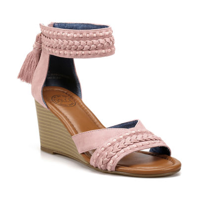 Dolce By Mojo Moxy Womens Anton Wedge Sandals
