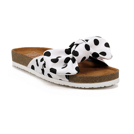 Dolce By Mojo Moxy Dell Womens Footbed Sandals