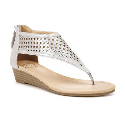 Dolce By Mojo Moxy Womens Faye Flat Sandals