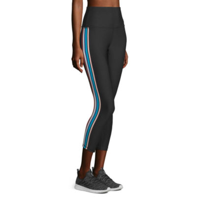 Xersion High Rise 7/8 Printed Workout Leggings