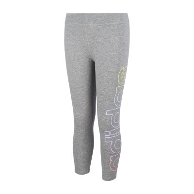 adidas - Big Kid Girls Mid Rise Legging