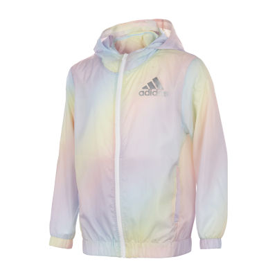 adidas-Big Kid Girls Midweight Windbreaker
