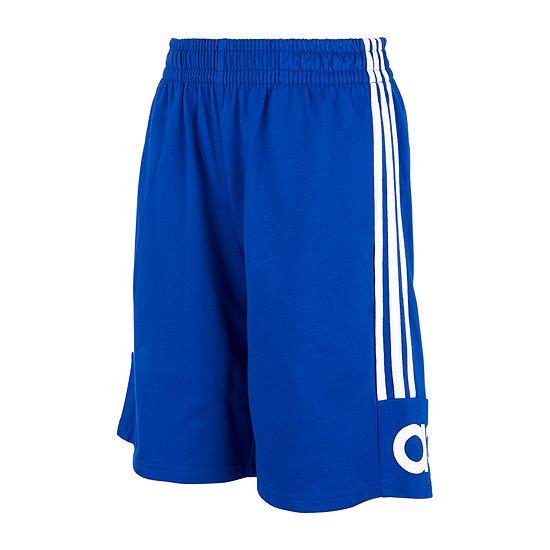 adidas - Little Kid Boys Mid Rise Workout Shorts