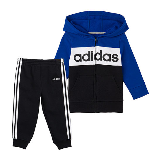 adidas Little Boys 2-pc. Waves Track Suit