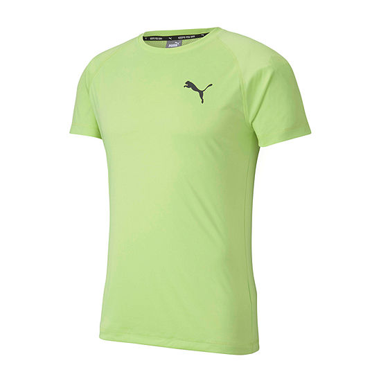 Puma Ready To Go Mens Crew Neck Short Sleeve Moisture Wicking Cooling T-Shirt
