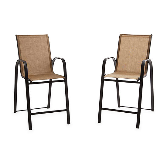 Outdoor Oasis Melbourne 2-pc. Patio Bar Stool