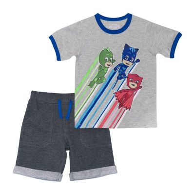 Toddler Boys 2-pc. PJ Masks Short Set