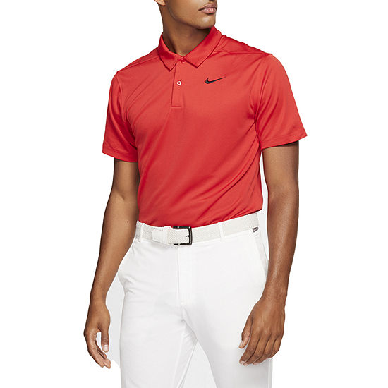 Nike Dri-Fit Essential Solid Mens Short Sleeve Polo Shirt